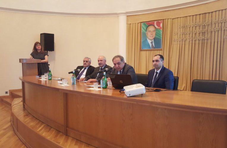 Quba şəhərində cərrahiyyənin aktual problemlərinə həsr olunmuş regional elmi-praktik konfrans keçirildi